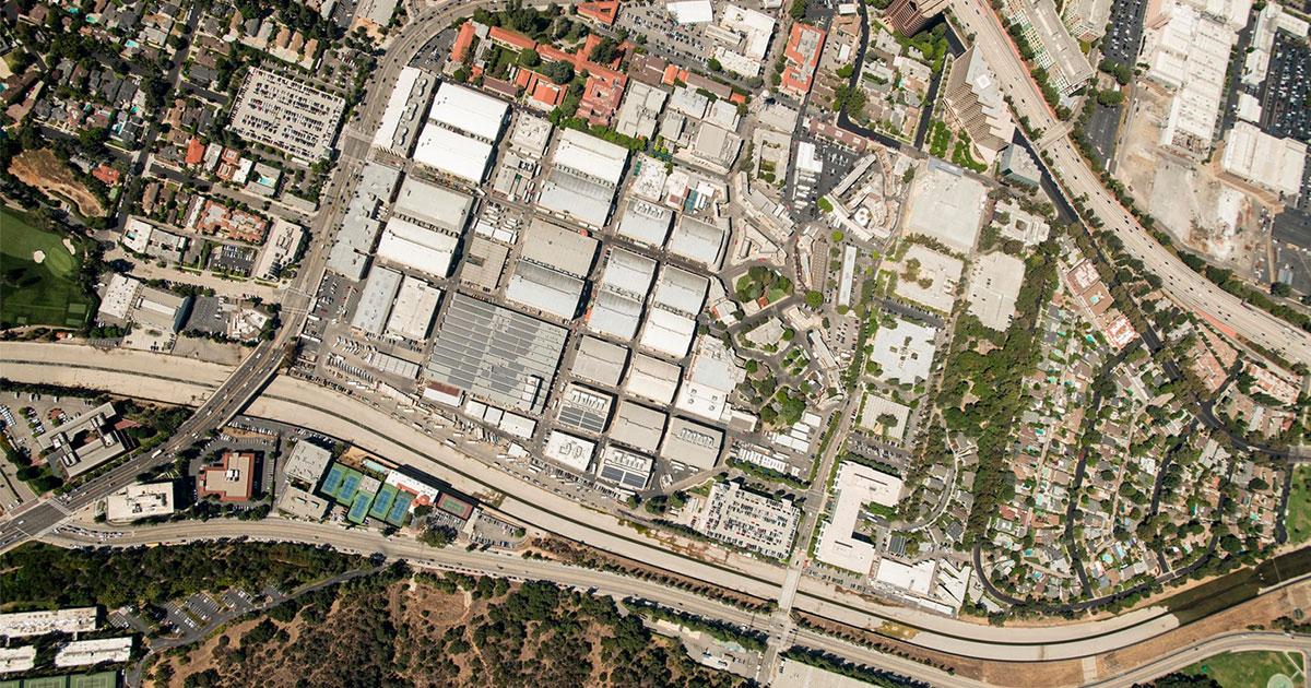 Birdseye aerial view by Marshall LaPlante shot September 3, 2019.